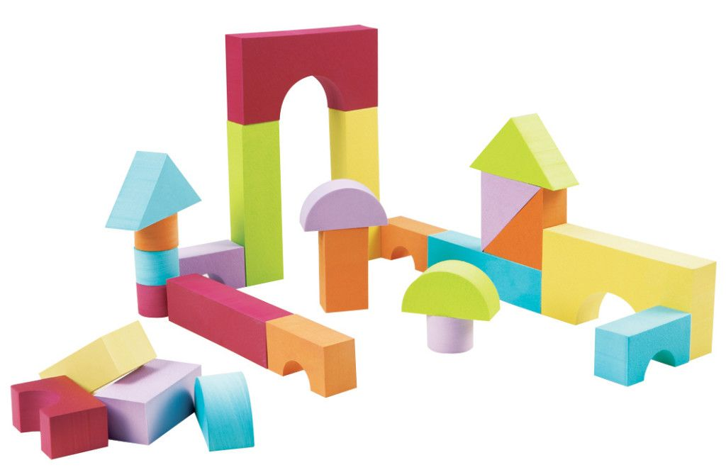 blocs de construction en mousse Ludi